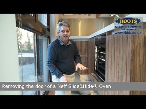 Removing a Neff Slide&Hide oven door