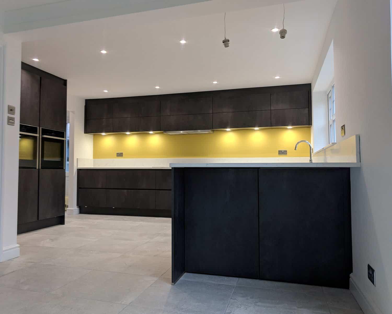 Photo of handleless kitchen