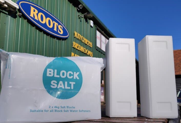 Photo of block salt